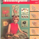 McCall's Needlepoint For Beginers Vintage 1967 Step By Step