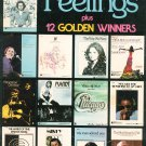 Feelings Plus 12 Golden Winners Piano Vocal Chord