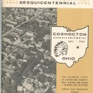 Coshocton County Sesquicentennial Celebration 1961 Vintage Book Historical Committee