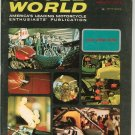 Vintage Cycle World Magazine August 1967 Cycle World Show Not PDF