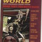 Vintage Cycle World Magazine January 1968 Moto Guzzi Not PDF
