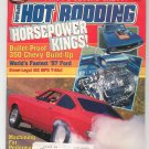 Vintage Hot Rodding Magazine June 1988  Not PDF