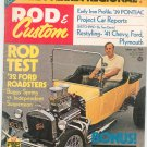 Vintage Rod & Custom Magazine August 1972  Not PDF
