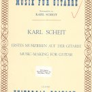 Music Making For Guitar Karl Scheit UE 14456 Universal Edition