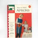 Singer How To Make Aprons 119 Vintage