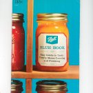 Ball Blue Book Cookbook Guide Canning Freezing Vintage 1966 Edition 28
