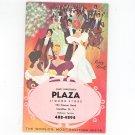 Vintage 1965 Advertising Liquor Party Book Santi Forestiere's Plaza Camillus New York