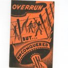 Overrun But Unconquered Historical Album For U.S. Stamps Globus Stamp 1943