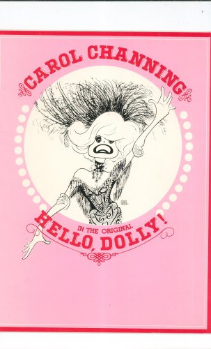 Carol Channing In The Original Hello Dolly Souvenir Program