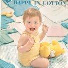 Baby Book Happy In Cotton DMC Volume 421