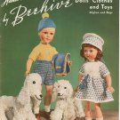 Beehive Dolls Clothes And Toys Book 146 Hand Knits