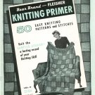 Fleischer Knitting Primer Volume 8 Sampler Afghan Not PDF