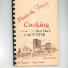 Plain And Fancy Cooking From The Best Chefs In Rochester Volume 1 Nauheimer