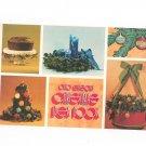 Ohio Edisons Christmas Idea Book Vintage Cookbook Plus