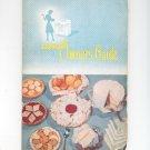 Vintage Tappan Owner's Guide & Cookbook Manual Number Panoramic 60 Series Gas Range
