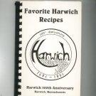 Favorite Harwich Recipes Cookbook 300th Anniversary Massachusetts