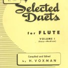 Selected Duets For Flute Volume 1 Number 177 Easy Medium Voxman