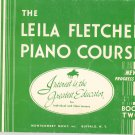 The Leila Fletcher Piano Course Book Two Vintage Montgomery Music Buffalo NY
