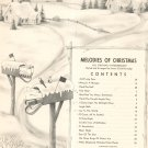 Melodies Of Christmas All Organ Intermediate Herridge Thomas Music