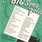 Your Big Song Folio Complete Songs Words And Music Mills Music 1954