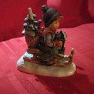 Hummel Ride Into Christmas Figurine TMK6 396