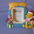 To Pooh To Piglet Picture Frame Christmas Ornament Classic Pooh Series