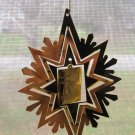 Franklin Mint Christmas Seals 1939 Snowflake Angel Stamp  Ornament With Certificate