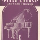 Vintage John Schaum Piano Course The Violet Book E Belwin