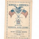 Songs Of America Arthur J. Mealand Advertising