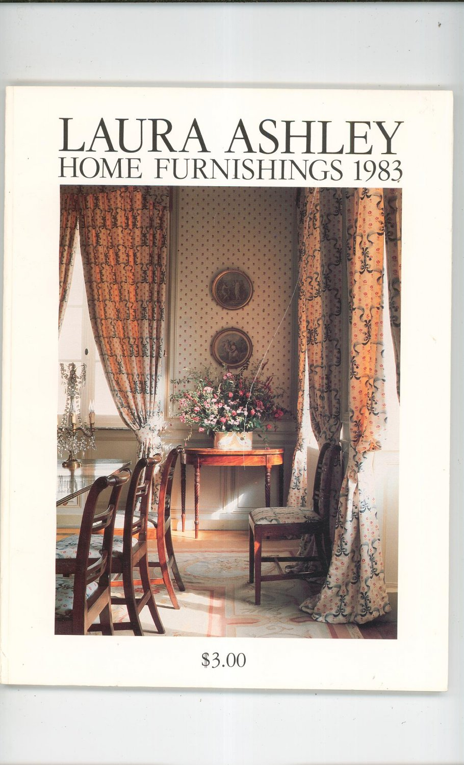 Laura ashley home furnishings catalog 1983 for Home decor furniture catalog