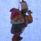 Julenisse Ornament Faces Of Christmas Around The World Franklin Mint Denmark