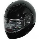 DOT Full Face Helmets Gloss Black Modular Motorbike Helmets
