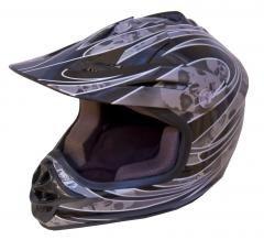 DOT ATV Dirt Bike MX Kids Motorbike Helmets BlackG