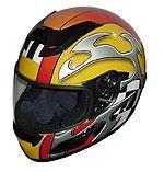 Full Face Racing Helmets - Yellow Blade