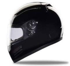 Full Face Racing Helmets - Gloss Black