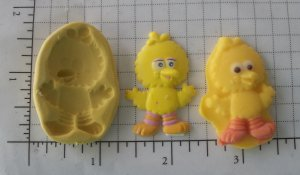 Baby Big Bird - Silicone Mold
