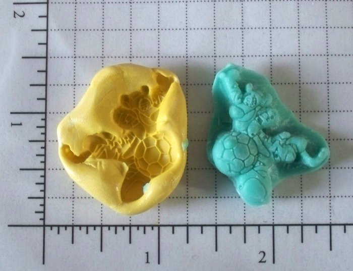 Sports Tiger & P00h  - Silicone Mold- Candy Cookies Crafts Cake Pops