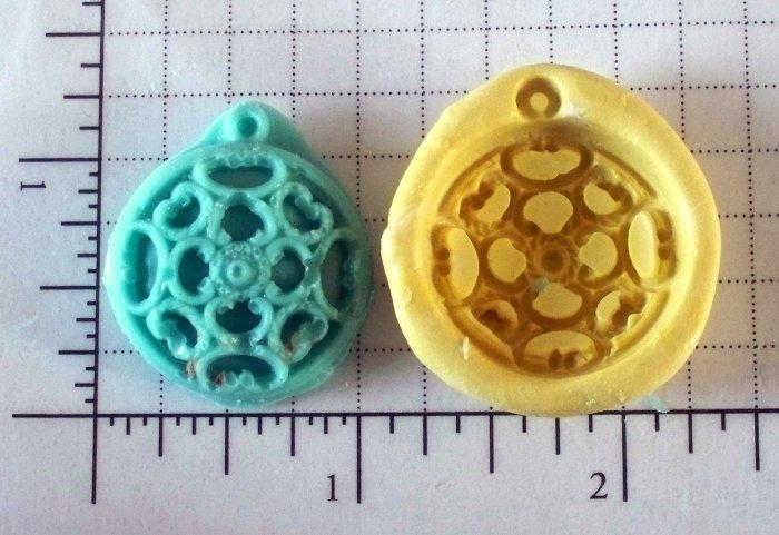 Filigree Design -  Silicone Mold