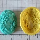Athena Grecian Woman - Flexible Silicone Mold- Cake Candy Fondant