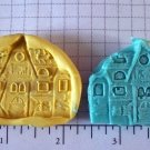 Halloween Haunted House -  Silicone Mold
