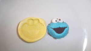 Cookie Flexible Push Mold - Cake Toppers Candy Cookies Crafts Clay