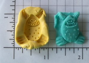 Big Mouth Monster- Silicone Mold Soap Candy Plaster Cake Resin