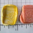 Comedy & Tragedy Playbill - Silicone Mold Soap Candy Plaster Cake Resin