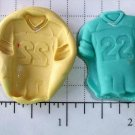 Sports Football Set -  Silicone Mold Soap Cake Resin Plaster Candy