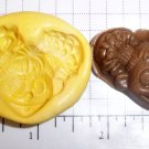 Abbey- Flexible Push Mold - Candy Cake cookies Clay Crafts Fondant