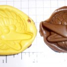 Large Yellow Bird- Silicone Mold - Candy Cake Toppers Cookies Crafts Clay  gen 2