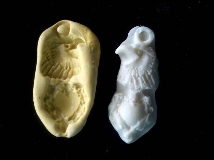 Eagle's Heart  -  Silicone Mold