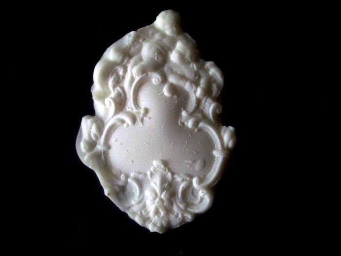 Cherub Filigree Tag-  Silicone Mold