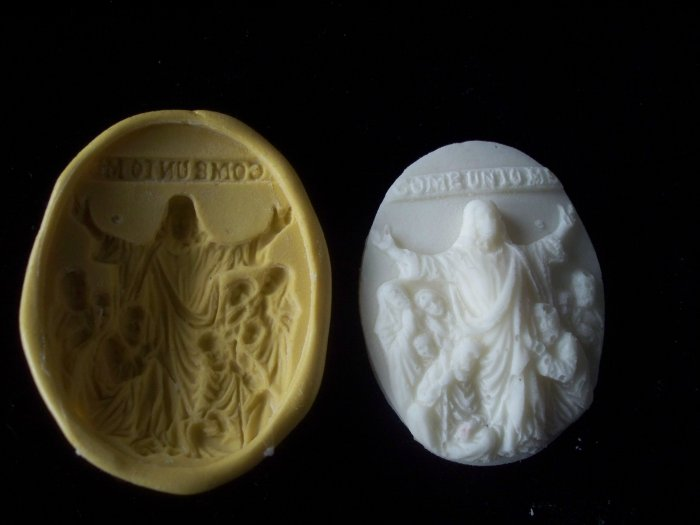 Religious Scene - Jesus- -  Silicone Mold