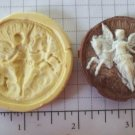 Angel w/ Horses -  Silicone Mold